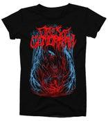 Image of Fires of Gomorrah Shirt - Black