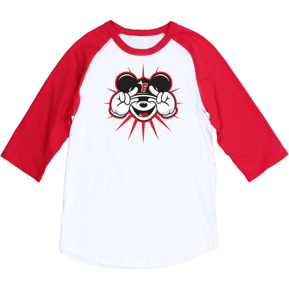 Image of So Fly Mickey raglan