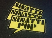 Image of Sinatti Pop - Die Cut Sticker