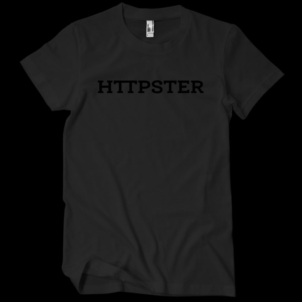 Image of HTTPSTER Tee, Midnight Edition (Black)