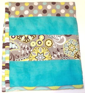 Image of Striped Baby Quilt