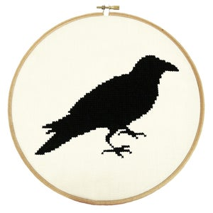 Image of The Raven PDF Pattern