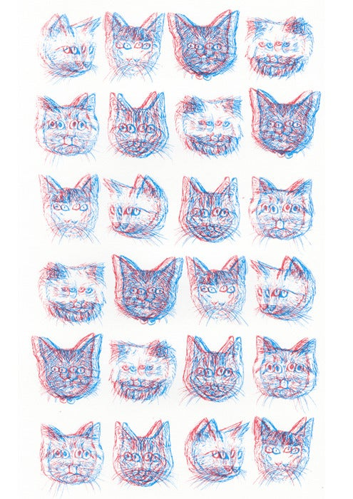 Image of 3D Cats!