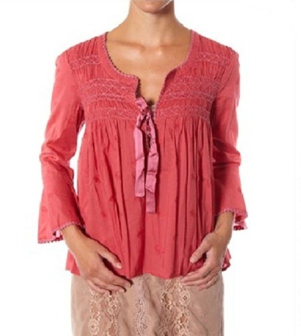 Image of Odd Molly Remix Blouse (Lite Red)