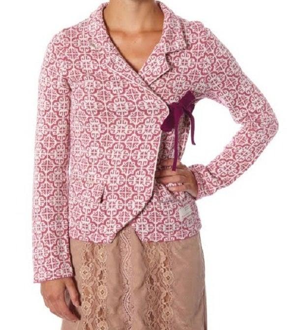 Image of Odd Molly Classic Knit Cardigan - Dark Rose