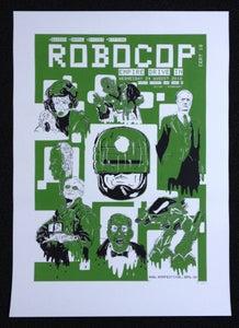 Image of Robocop Screen Print