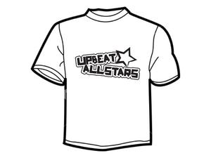 Image of Black-On-White T-Shirt