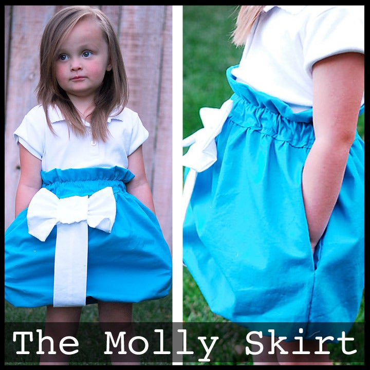 Image of The Molly Skirt Pattern 12m-12 years