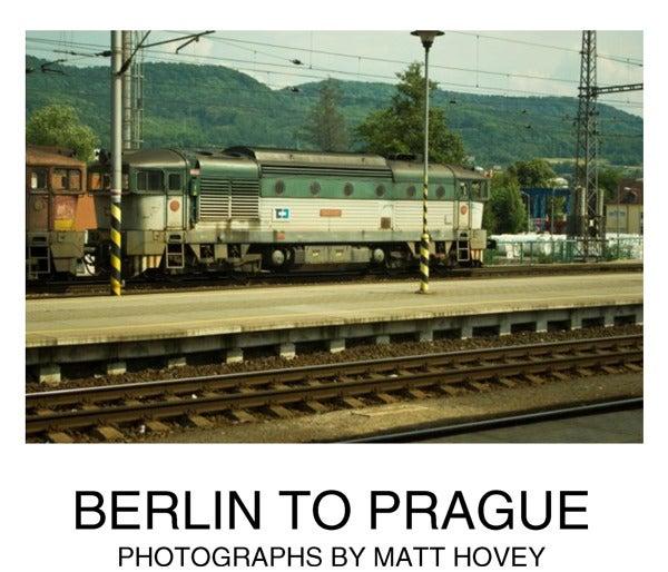 Image of Berlin to Prague folio
