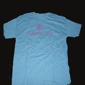 Image of Unisex Adult Blue Tshirt