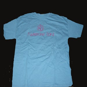 Image of Unisex Adult Blue Tshirt