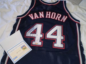 Image of Keith Van Horn Steiner Sports Authentic Signed Away Jersey COA