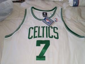 """Image of Al """"Big AL"""" Jefferson Signed Celtics Home Jersey"""