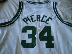 Image of Paul Pierce Signed Home Swingman Jersey
