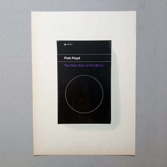 Image of The Dark Side of the Moon Screen Print Limited Edition