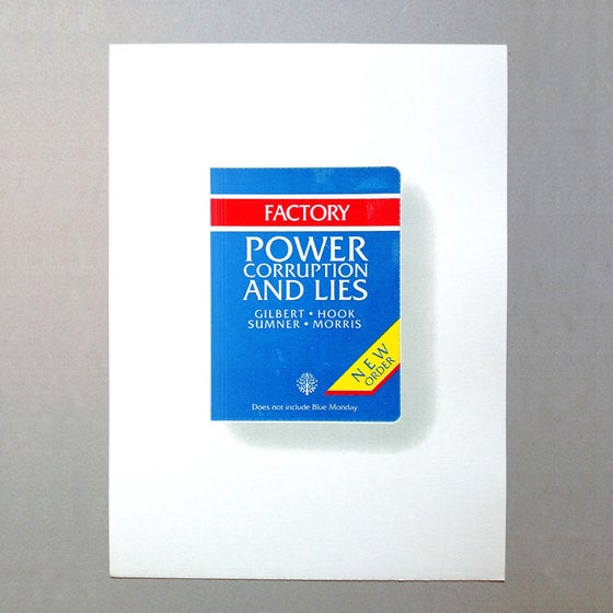 Image of Power Corruption and Lies Screen Print Limited Edition