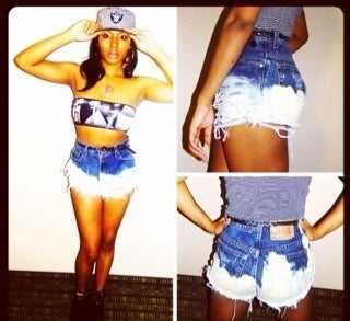 Image of #VE Risky Frosted Bottoms