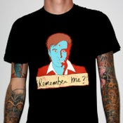 """Image of Bill Hicks """"Remember Me?"""" by Jermaine Rogers T-Shirt - AA Black"""