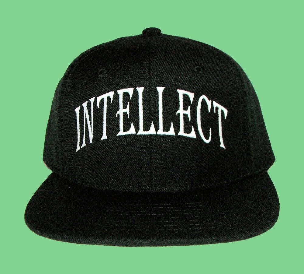 "Image of ""Intellect"" Snapback (Black)"