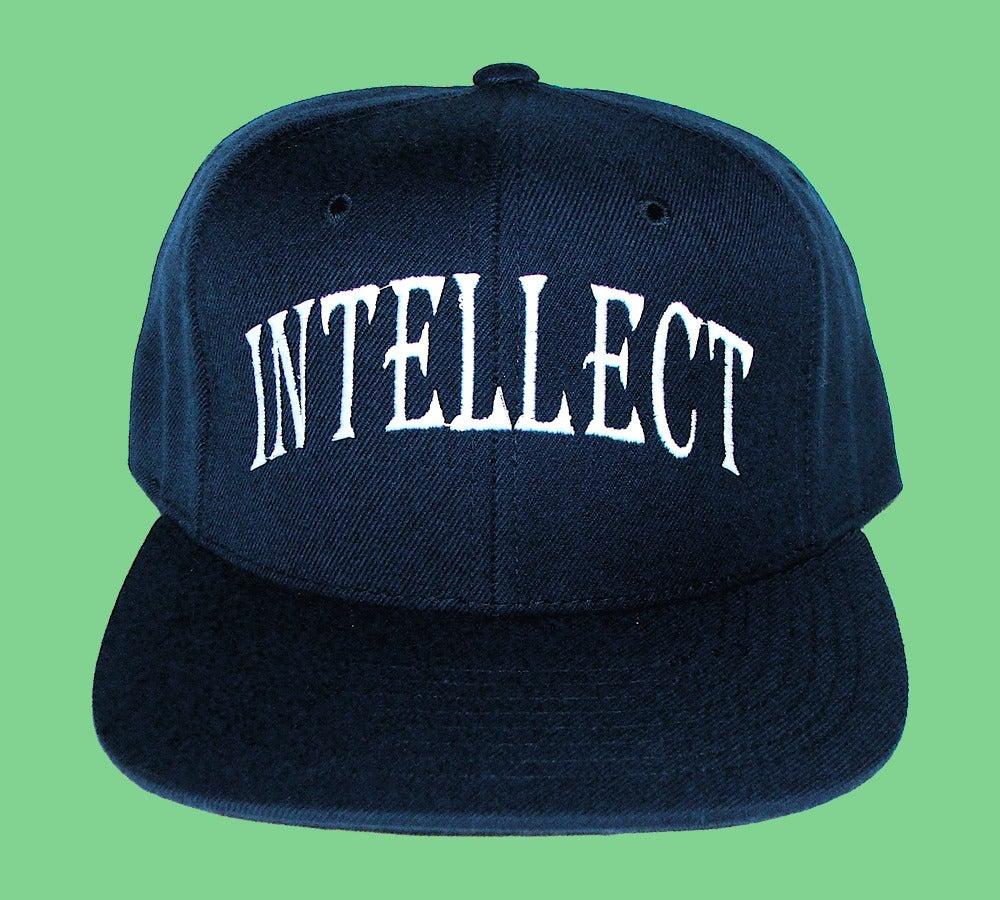 "Image of ""Intellect"" Snapback (Navy)"