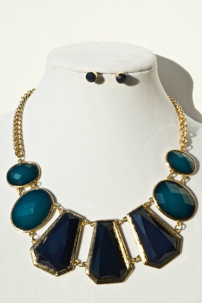 """Image of Turquoise Nature's Gem Necklace Set <p style=""""color:yellow;"""">NEW!</p>"""