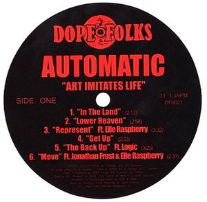 "Image of AUTOMATIC ""Art Imitates Life"" LP ***SOLD OUT***"