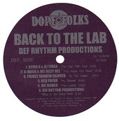 """Image of """"BACK TO THE LAB"""" Def Rhythm Productions LP ***SOLD OUT***"""