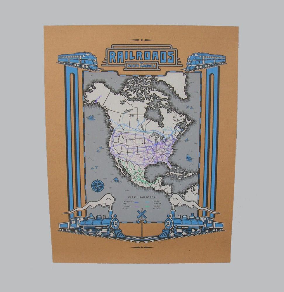 Image of Railroads of N.A.