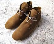 Image of <b>Anniel Desert Boots ________</b><br>Daim tabac<br><i>Tobacco suede</i>