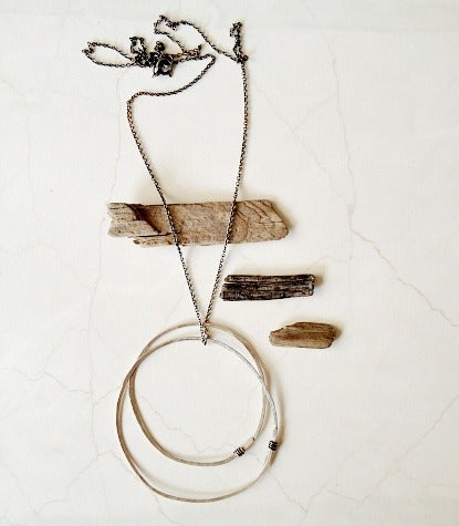 Image of NEW large orbit necklace