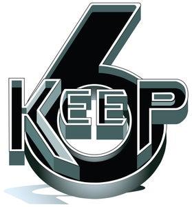 Image of KEEP 6 LOGO HOODIE