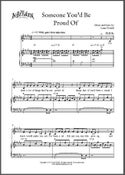 Image of Someone You'd Be Proud Of (Digital Sheet Music)