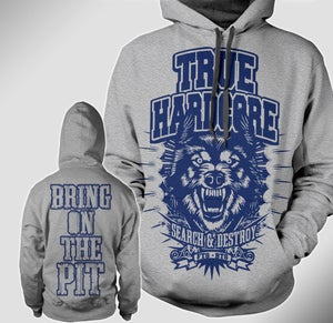 """Image of True Hardcore """"Search & Destroy"""" pullover hoodie"""