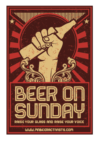 Image of Beer on Sunday Poster