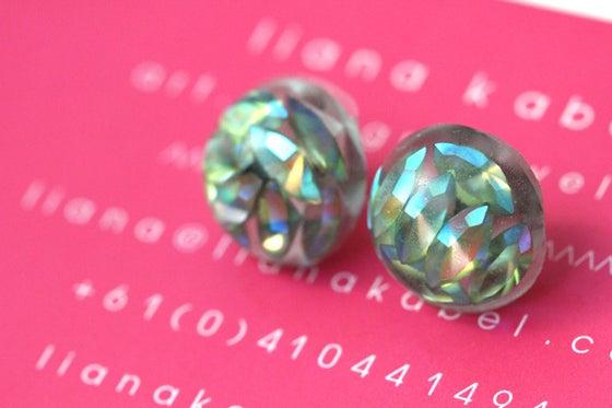 Image of Crystal Studs - Vintage Rhinestones