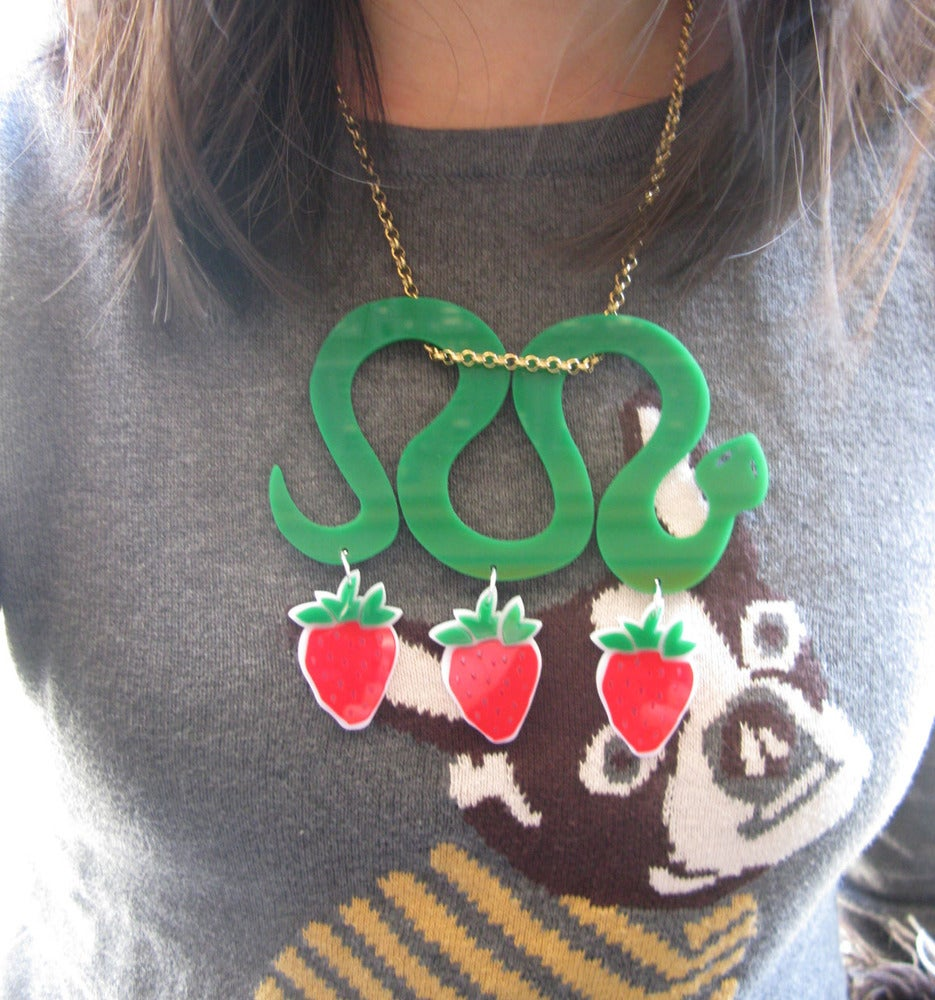 "Image of ""Overdosed"" Snake Necklace"