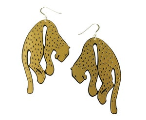 "Image of ""Sleeping Beast"" Earrings"
