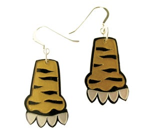 Image of Paw Earrings