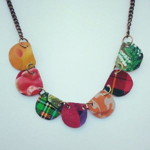 """Image of """"Tin Pan Alley"""" Petal Necklace"""