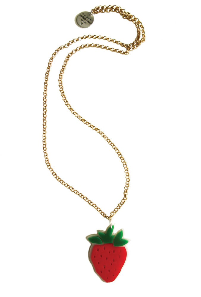 Image of Strawberry Necklace