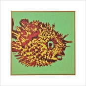 "Image of ""PUFFER FISH"" Serigraph"