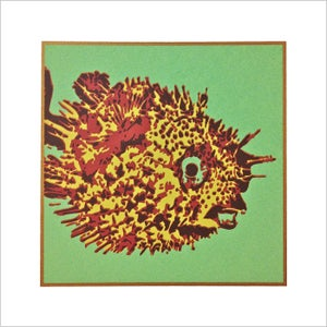 "Image of ""PUFFER FISH"" Serigraph"