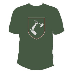 Image of Hammersmith Logo Tee - Army Green