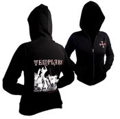 Image of Templars Beauseant Girls Zip Hoody