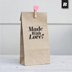 Image of Plain Kraft Gusset Paper Bag