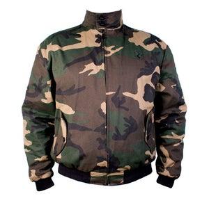 Image of Camouflage Harrington Jacket