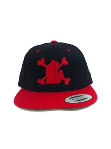 Image of DMD Red Wizzle Snapback
