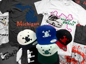 Image of SNAPBACK HAT AND TEE COMBO DEAL.....WHAT?!?!?!?!?!?
