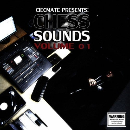 """Image of CIECMATE PRESENTS: """"Chess Sounds Volume 01"""" CD"""