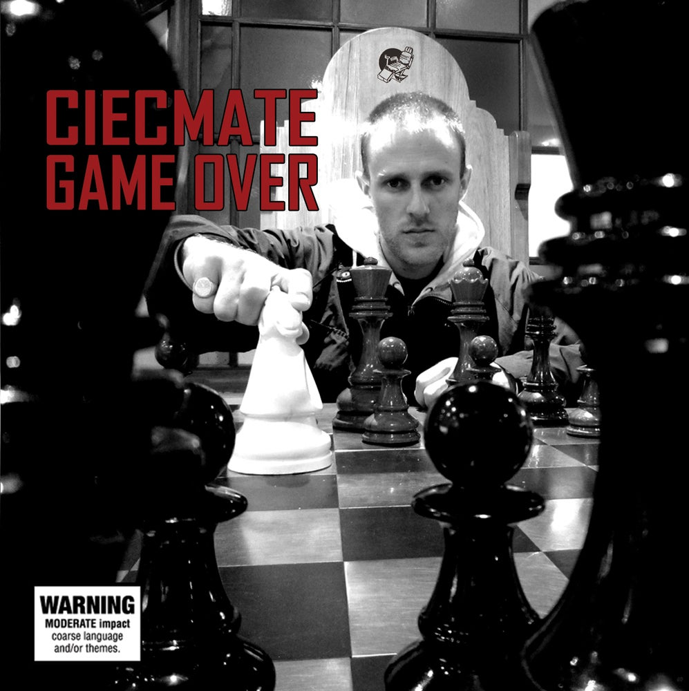 "Image of CIECMATE ""Game Over"" CD"